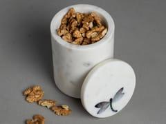 Contenitore per alimenti in marmoPIETRA DURA FLUTTER | Contenitore per alimenti - ORVI DESIGN STUDIO