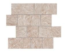 Mosaico in gres porcellanatoPIETRA OCCITANA | Mosaico Bianco - MARAZZI GROUP