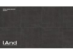 Pavimento/rivestimento in gres porcellanato tecnico effetto pietraPIETRA SERENA GRAPHITE - LAND PORCELANICO