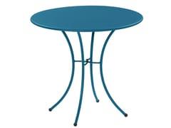 Tavolo da giardino rotondo in acciaio PIGALLE | Tavolo rotondo - Pigalle