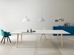 Tavolo da riunione rettangolare PIGRECO | Tavolo da riunione in legno - Pigreco