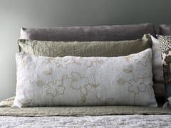 Federa in lino con motivi florealiNARCISO | Federa - LA FABBRICA DEL LINO BY BERGIANTI & PAGLIANI