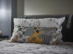 Federa in lino con motivi florealiPATCHWORK FLOREALE | Federa - LA FABBRICA DEL LINO BY BERGIANTI & PAGLIANI