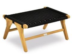 Tavolino / Poggiapiedi da giardino in cordaPIMLICO   Poggiapiedi da giardino - INDIAN OCEAN