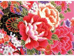 Stampa su tessuto da paretePINK FLOWER DREAMS - MONDIART INTERNATIONAL