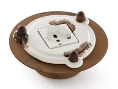 Interruttore / presa elettrica in ceramicaPIPES | Presa elettrica - FERROLUCE