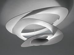 Lampada da soffitto a luce indiretta in alluminio PIRCE MINI | Lampada da soffitto - Pirce