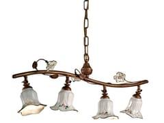 Lampadario orientabile in ceramicaPISA | Lampadario orientabile - FERROLUCE