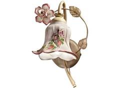 Applique in ceramica con braccio fissoPISA | Applique - FERROLUCE