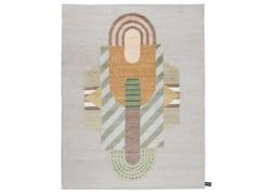 Tappeto fatto a mano a motivi geometrici PITAGORA | Tappeto - Signature
