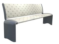 GHM-ECLATEC, PIXEON | Panchina con schienale  Panchina con schienale