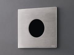 Placca di comando per wc in acciaio inox ad infrarossiPLA 12 - CEADESIGN
