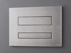 Placca di comando per wc in acciaio inoxPLA 20 - CEADESIGN