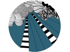Tappeto rotondo in lana PLACE DES FÊTES | Tappeto rotondo - Permanent