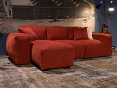 Divano componibile in tessuto con chaise longuePLACIDO   Divano con chaise longue - MANTELLASSI DESIGN