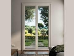 COCIF, PLANAR Porta-finestra a taglio termico in alluminio e legno
