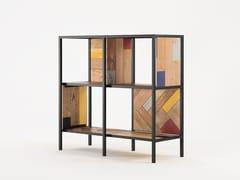 Libreria in legno di recupero PLANKE HORIZONTAL RACK 4 | Libreria - Planke