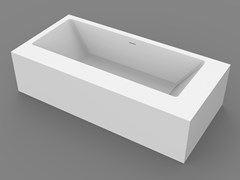 MOMA Design, PLATINUM BASIC Vasca da bagno centro stanza rettangolare