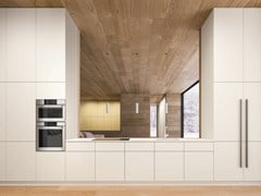 Cucina componibile lineare in legnoPLAYGROUND - ELMAR