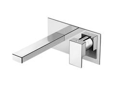 Miscelatore per lavabo a muro monocomando in ottonePLAYONE 90 - 9010118 - FIR ITALIA