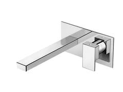 Miscelatore per lavabo a muro monocomando in ottonePLAYONE 90 - 9010218 - FIR ITALIA