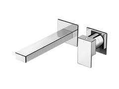 Miscelatore per lavabo a muro monocomando in ottonePLAYONE 90 - 9018118 - FIR ITALIA