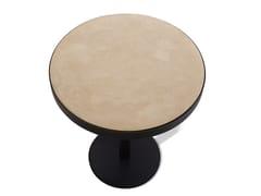 Tavolino da caffè in materiali cementizi per contract PLEASE | Tavolino in materiali cementizi - Please