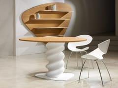 Tavolo in legno e Solid Surface®PLECTRUM | Tavolo - BOFFETTO