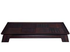 Tavolino rettangolare in legno da salotto PLENILUNE | Tavolino rettangolare - Night Tales