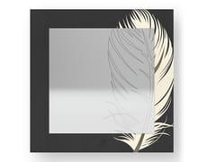Specchio quadrato da parete PLUME COLD | Specchio - DOLCEVITA NATURE