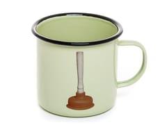 Mug in metallo smaltatoPLUNGER | Mug - SELETTI