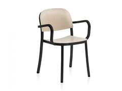 Sedia in compensato con braccioli 1 INCH | Sedia con braccioli - 1 Inch