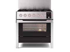 Cucina a libera installazione in acciaioPM09 | Cucina a libera installazione - ILVE