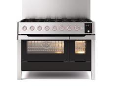 Cucina a libera installazione in acciaioPM12 | Cucina a libera installazione - ILVE