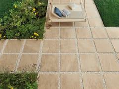 Pavimento per esterni in gres porcellanato effetto pietra point