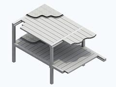 Solaio prefabbricato in cemento armato precompressoPOKER - MANINI PREFABBRICATI