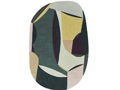 Tappeto ovale in lanaPOLIA SHAPE - TOULEMONDE BOCHART