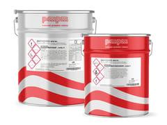 Vernice poliuretanica bicomponente alifatico base acquaPOLISTAR 8670W TRASPARENTE - MPM - MATERIALI PROTETTIVI MILANO