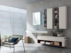 Sistema bagno componibile POLLOCK YAPO - COMPOSIZIONE 47 - Pollock
