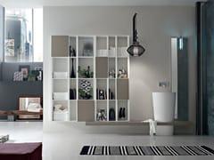 Sistema bagno componibile POLLOCK YAPO - COMPOSIZIONE 49 - Pollock