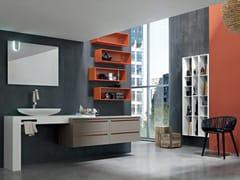 Sistema bagno componibile POLLOCK YAPO - COMPOSIZIONE 50 - Pollock