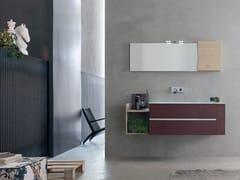 Sistema bagno componibile POLLOCK YAPO - COMPOSIZIONE 42 - Pollock