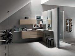Sistema bagno componibile POLLOCK YAPO - COMPOSIZIONE 44 - Pollock