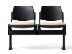 Seduta su barra in polipropilene con sedile ribaltabileNEW BONN | Seduta su barra in polipropilene - DIEMME