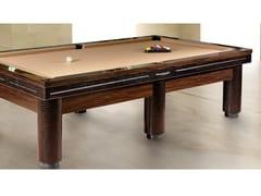 Tavolo da biliardo rettangolare in legno impiallacciatoPLAYING A'ROUND - TONINO LAMBORGHINI CASA BY FORMITALIA GROUP