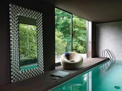 Specchio da terra in vetro con cornicePOP | Specchio da terra - FIAM ITALIA