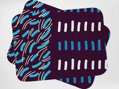 Tovaglietta rettangolare in PVCPOP OSTRICH | Tovaglietta - PPPATTERN
