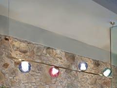Lampada a sospensione fatta a mano in vetro e metalloPOP S4 - BERTI BARCELONA
