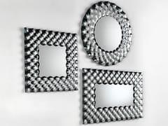 Specchio in vetro con cornice da paretePOP | Specchio da parete - FIAM ITALIA