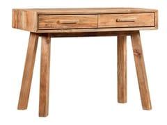 Consolle rettangolare in legno massello con cassettiPOPPET - ARREDIORG